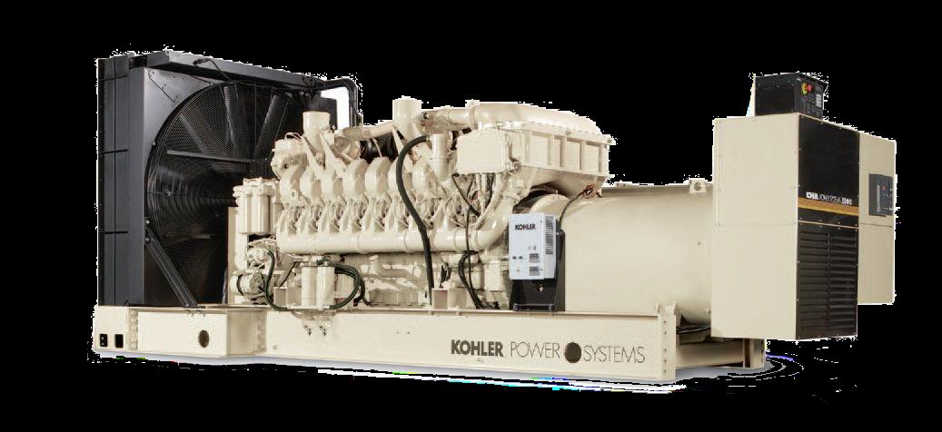 Kohler Industrial Generator